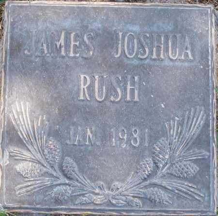 RUSH, JAMES JOSHUA - Maricopa County, Arizona   JAMES JOSHUA RUSH - Arizona Gravestone Photos