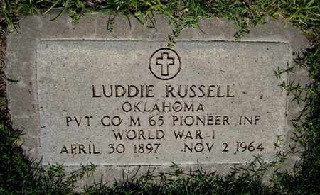 RUSSELL, LUDDIE - Maricopa County, Arizona | LUDDIE RUSSELL - Arizona Gravestone Photos