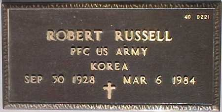 RUSSELL, ROBERT - Maricopa County, Arizona | ROBERT RUSSELL - Arizona Gravestone Photos