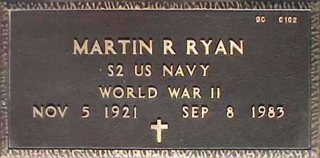 RYAN, MARTIN R. - Maricopa County, Arizona   MARTIN R. RYAN - Arizona Gravestone Photos