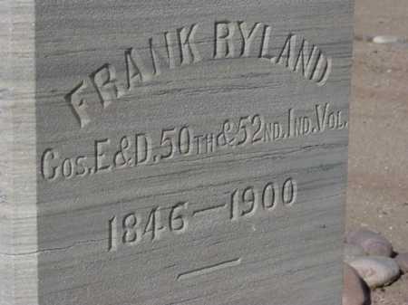 RYLAND, FRANK - Maricopa County, Arizona | FRANK RYLAND - Arizona Gravestone Photos