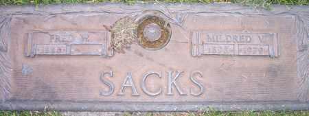 SACKS, MILDRED V. - Maricopa County, Arizona | MILDRED V. SACKS - Arizona Gravestone Photos