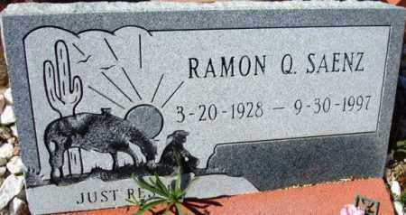 SAENZ, RAMON Q. - Maricopa County, Arizona   RAMON Q. SAENZ - Arizona Gravestone Photos