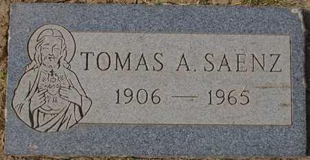 SAENZ, TOMAS A. - Maricopa County, Arizona   TOMAS A. SAENZ - Arizona Gravestone Photos