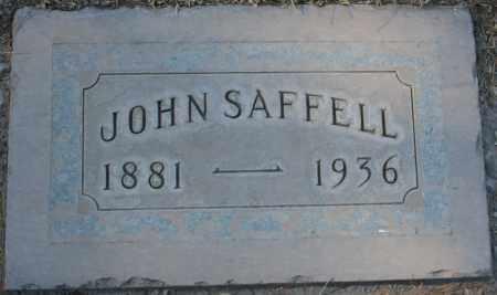 SAFFELL, JOHN - Maricopa County, Arizona | JOHN SAFFELL - Arizona Gravestone Photos