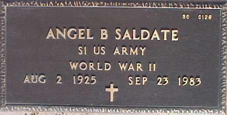 SALDATE, ANGEL B. - Maricopa County, Arizona   ANGEL B. SALDATE - Arizona Gravestone Photos