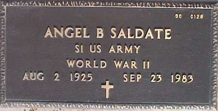 SALDATE, ANGEL B. - Maricopa County, Arizona | ANGEL B. SALDATE - Arizona Gravestone Photos
