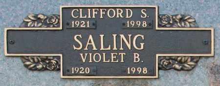 SALING, CLIFFORD S - Maricopa County, Arizona | CLIFFORD S SALING - Arizona Gravestone Photos