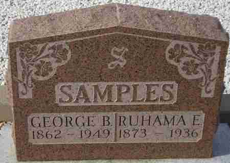 SAMPLES, GEORGE B. - Maricopa County, Arizona | GEORGE B. SAMPLES - Arizona Gravestone Photos