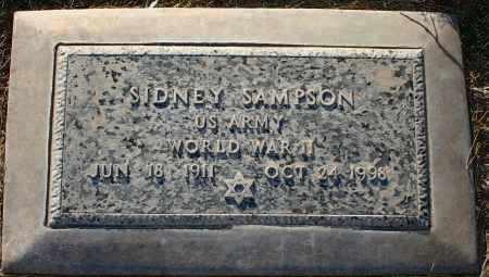 SAMPSON, SIDNEY - Maricopa County, Arizona | SIDNEY SAMPSON - Arizona Gravestone Photos