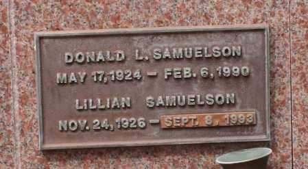 SANUELSON, LILLIAN - Maricopa County, Arizona | LILLIAN SANUELSON - Arizona Gravestone Photos
