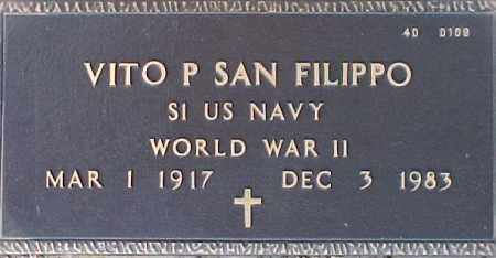 SAN FILIPPO, VITO P. - Maricopa County, Arizona | VITO P. SAN FILIPPO - Arizona Gravestone Photos