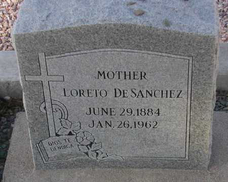 SANCHEZ, LORETO - Maricopa County, Arizona | LORETO SANCHEZ - Arizona Gravestone Photos