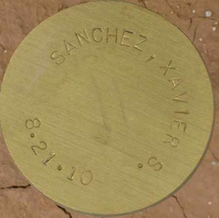 SANCHEZ, XAVIER S. - Maricopa County, Arizona | XAVIER S. SANCHEZ - Arizona Gravestone Photos