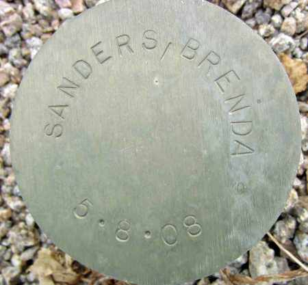 SANDERS, BRENDA - Maricopa County, Arizona | BRENDA SANDERS - Arizona Gravestone Photos