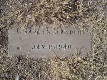 SANDERS, CHARLES - Maricopa County, Arizona | CHARLES SANDERS - Arizona Gravestone Photos
