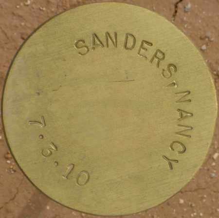 SANDERS, NANCY - Maricopa County, Arizona   NANCY SANDERS - Arizona Gravestone Photos