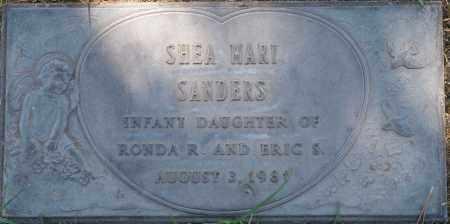 SANDERS, SHEA MARI - Maricopa County, Arizona | SHEA MARI SANDERS - Arizona Gravestone Photos
