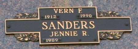 SANDERS, JENNIE R - Maricopa County, Arizona | JENNIE R SANDERS - Arizona Gravestone Photos