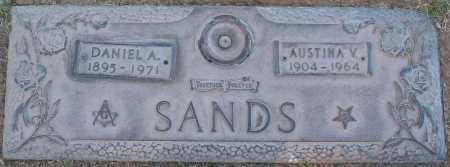 SANDS, DANIEL A - Maricopa County, Arizona | DANIEL A SANDS - Arizona Gravestone Photos