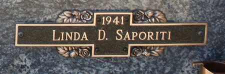 SAPORITI, LINDA D - Maricopa County, Arizona   LINDA D SAPORITI - Arizona Gravestone Photos