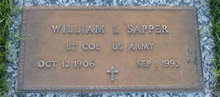 SAPPER, WILLIAM L. - Maricopa County, Arizona | WILLIAM L. SAPPER - Arizona Gravestone Photos