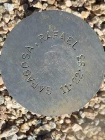 SARAGOSA, RAFAEL - Maricopa County, Arizona | RAFAEL SARAGOSA - Arizona Gravestone Photos