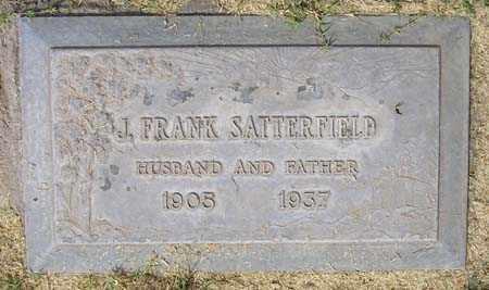SATTERFIELD, JAMES FRANK - Maricopa County, Arizona   JAMES FRANK SATTERFIELD - Arizona Gravestone Photos