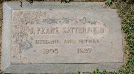 SATTERFIELD, J. FRANK - Maricopa County, Arizona | J. FRANK SATTERFIELD - Arizona Gravestone Photos