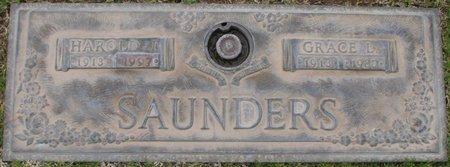 SAUNDERS, HAROLD J - Maricopa County, Arizona | HAROLD J SAUNDERS - Arizona Gravestone Photos
