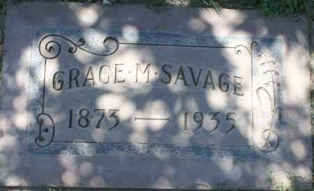 SAVAGE, GRACE M - Maricopa County, Arizona | GRACE M SAVAGE - Arizona Gravestone Photos