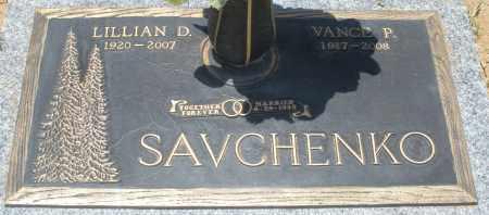 SAVCHENKO, LILLIAN D. - Maricopa County, Arizona   LILLIAN D. SAVCHENKO - Arizona Gravestone Photos