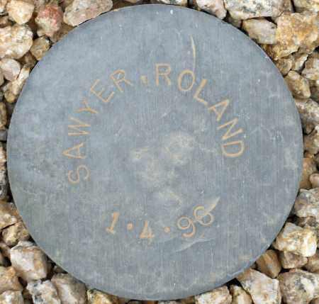SAWYER, ROLAND - Maricopa County, Arizona   ROLAND SAWYER - Arizona Gravestone Photos