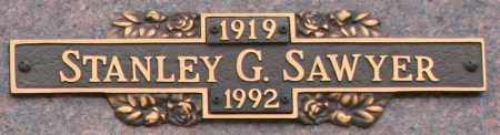 SAWYER, STANLEY G - Maricopa County, Arizona | STANLEY G SAWYER - Arizona Gravestone Photos