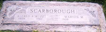"SCARBOROUGH, ALFRED A. ""BUZ"" - Maricopa County, Arizona | ALFRED A. ""BUZ"" SCARBOROUGH - Arizona Gravestone Photos"