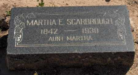 SCARBROUGH, MARTHA E. - Maricopa County, Arizona | MARTHA E. SCARBROUGH - Arizona Gravestone Photos