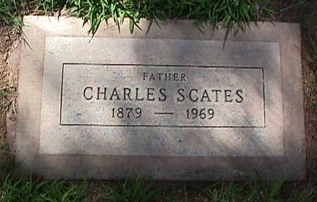 SCATES, CHARLES - Maricopa County, Arizona | CHARLES SCATES - Arizona Gravestone Photos