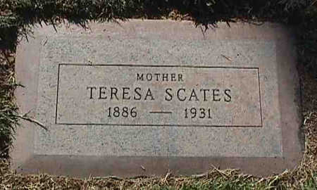 MCDONALD SCATES, TERESA - Maricopa County, Arizona | TERESA MCDONALD SCATES - Arizona Gravestone Photos