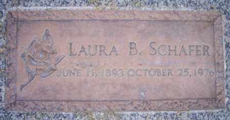 SCHAFER, LAURA B. - Maricopa County, Arizona | LAURA B. SCHAFER - Arizona Gravestone Photos
