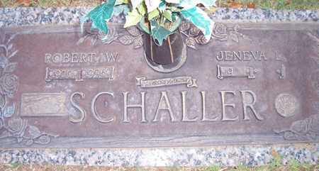 SCHALLER, JENEVA L. - Maricopa County, Arizona | JENEVA L. SCHALLER - Arizona Gravestone Photos