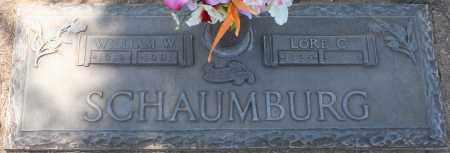SCHAUMBURG, LORE C. - Maricopa County, Arizona | LORE C. SCHAUMBURG - Arizona Gravestone Photos
