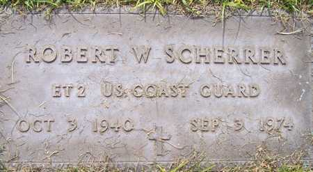 SCHERRER, ROBERT W. - Maricopa County, Arizona | ROBERT W. SCHERRER - Arizona Gravestone Photos