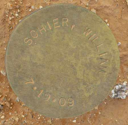 SCHIER, WILLIAM - Maricopa County, Arizona | WILLIAM SCHIER - Arizona Gravestone Photos