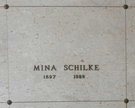 SCHILKE, MINA - Maricopa County, Arizona | MINA SCHILKE - Arizona Gravestone Photos
