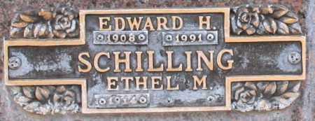 SCHILLING, EDWARD H - Maricopa County, Arizona | EDWARD H SCHILLING - Arizona Gravestone Photos