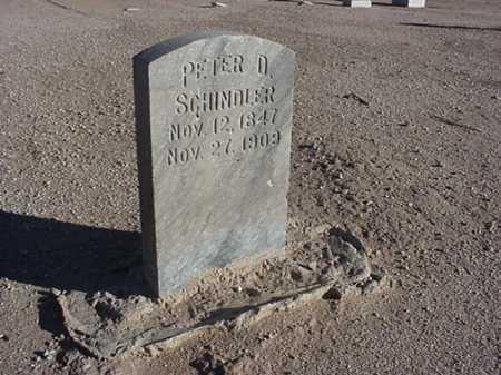 SCHINDLER, PETER D - Maricopa County, Arizona   PETER D SCHINDLER - Arizona Gravestone Photos