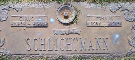 SCHLICHTMANN, CLAUS H. - Maricopa County, Arizona | CLAUS H. SCHLICHTMANN - Arizona Gravestone Photos