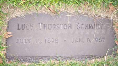 THURSTON SCHMIDT, LUCY - Maricopa County, Arizona | LUCY THURSTON SCHMIDT - Arizona Gravestone Photos