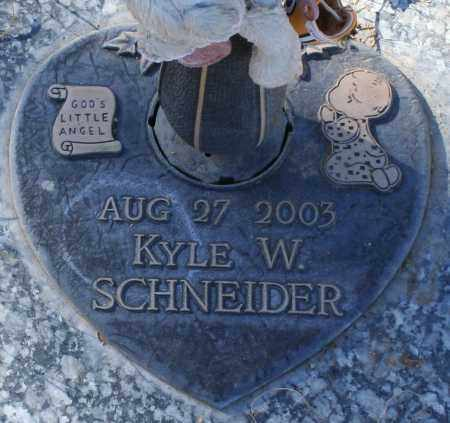 SCHNEIDER, KYLE W - Maricopa County, Arizona   KYLE W SCHNEIDER - Arizona Gravestone Photos