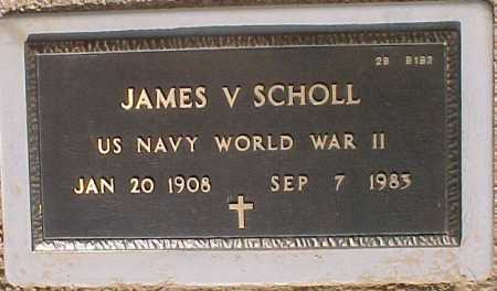 SCHOLL, JAMES V. - Maricopa County, Arizona   JAMES V. SCHOLL - Arizona Gravestone Photos